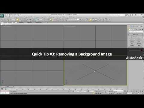 Tip #3: Removing a Background Image