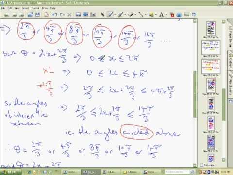 Solving Trigonometry Equations Help Part 4 of 4