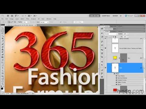 Photoshop tutorial: How to save large image files   lynda.com