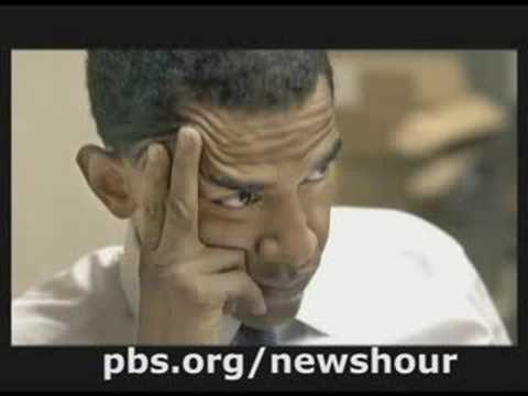 THE NEWSHOUR WITH JIM LEHRER | Close Up: Barack Obama and Leadership Pt.1 | PBS