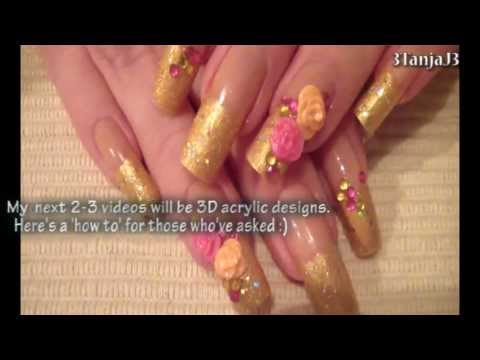 Quick How To: 3D Acrylic Nail Art Designs