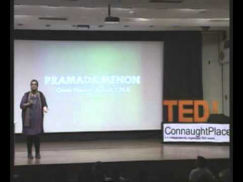 TEDxConnaughtPlace - Pramada Menon - Not Straight, Not Weird... Just Commonplace