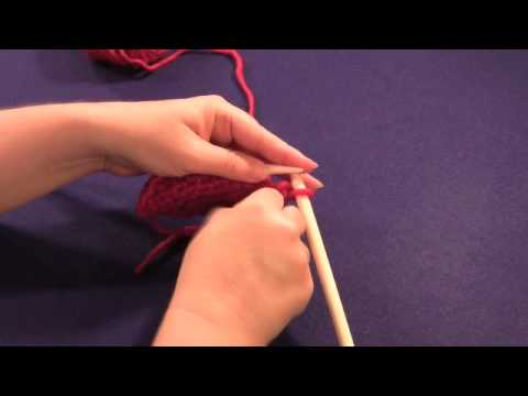 Slip One, Purl One, Pass Slip Stitch Over Decrease (s1p1psso or spp)