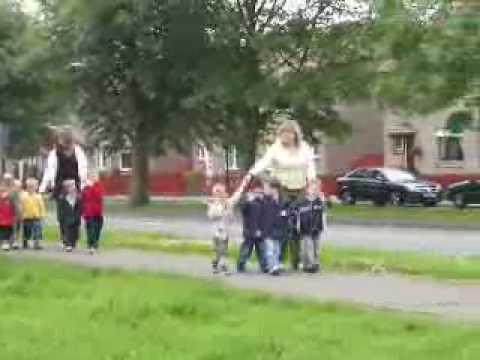 school walk
