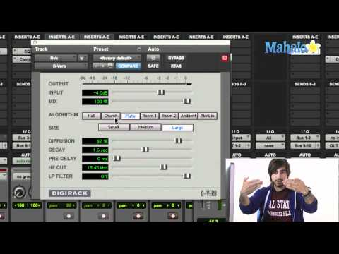 Using Reverb Effect - Pro Tools 9