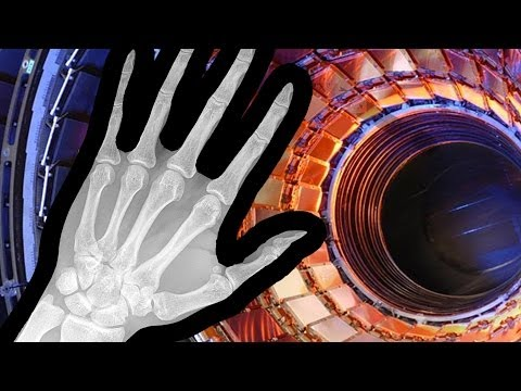 Putting your hand in the Large Hadron Collider...