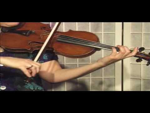 "Violin Lesson - song demonstration - ""Oh Susanna"""