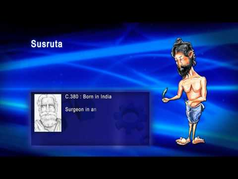 Top 100 Greatest Scientist in History For Kids(Preschool) - SUSRUTA