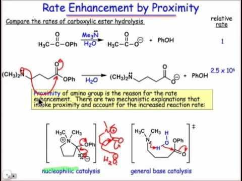 Rate Enhancement by Proximity & Orientation