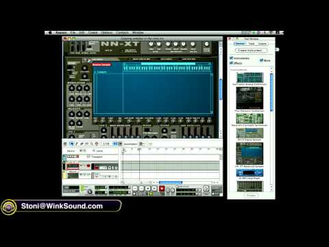 Propellerhead Reason: Copy Samples in Remote Editor of NN-XT | WinkSound