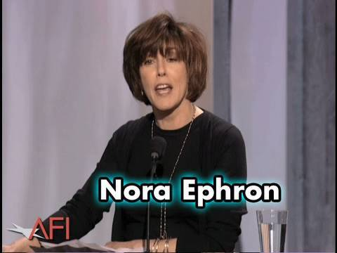Nora Ephron Highly Recommends Having Meryl Streep Play You