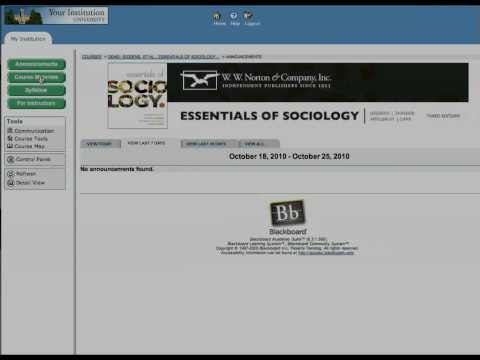Two minute tour of the Coursepack for Essentials of Sociology