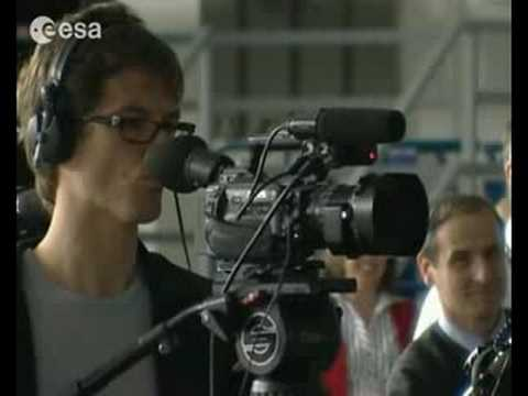 New astronauts meet the press