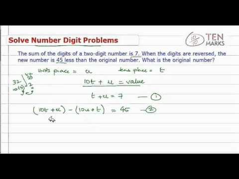 Solve Number Digit Problem