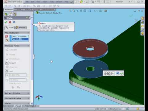 solidworks 2009 tutorial  Assembly