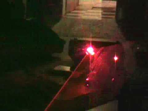 Skytec TOP-2 DUAL LASER UNIT In the dark
