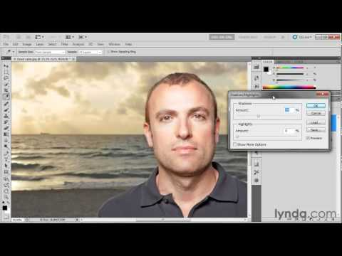 Photoshop tutorial: The Shadows/Highlights filter | lynda.com