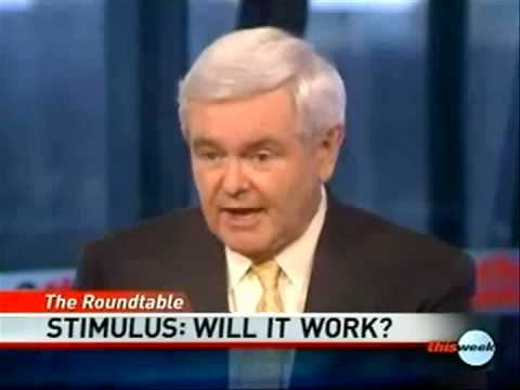 Newt Gingrich on the Stimulus Package