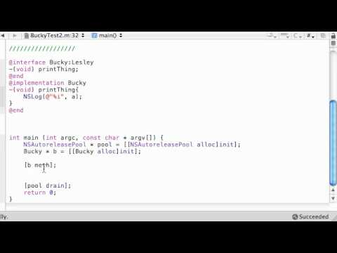 Objective C Programming Tutorial - 29 - My Mom