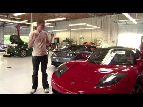 Test Driving the Tesla Roadster