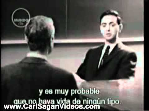Very Young Carl Sagan talks about planet Venus