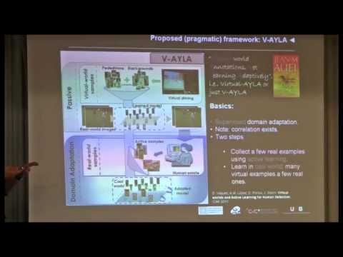 NIPS 2011 Domain Adaptation Workshop: Cool world: domain adaptation of virtual and real worlds....