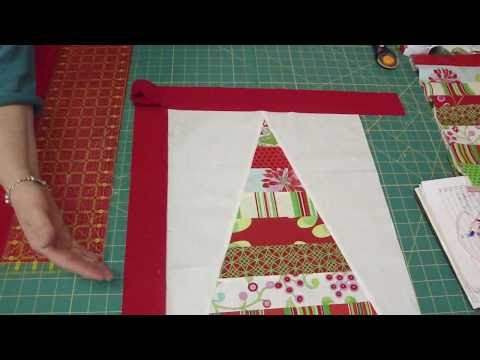 Two Table Topper projects from the Snow Flower Design Roll Part 2/2