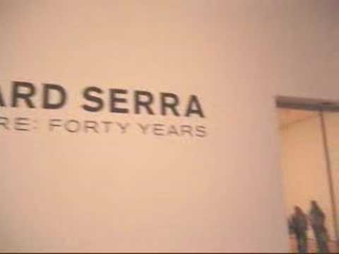 Richard Serra Sculpture: Forty Years at THE MUSEUM OF MODERN