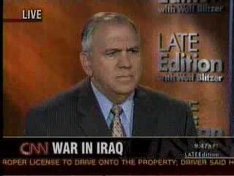 What's Next for Iraq? Larry Korb on CNN's Late Edition Pt 2
