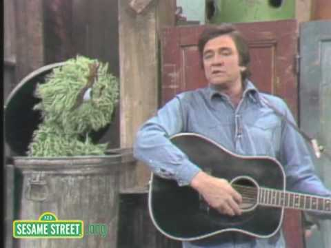 Sesame Street: Johnny Cash Sings Nasty Dan