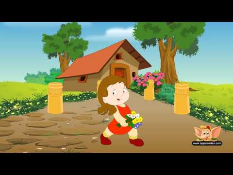 Sally Go Round the Sun - Nursery Rhyme (HD)