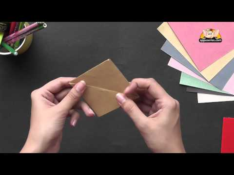 Origami - Let's learn to make a Simple Boat (HD)