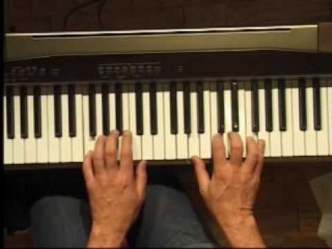 Piano Lesson - How to Play the F major scale (left hand)