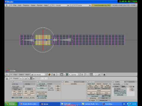 Tutorial Blender Skinning por Grupos de Vértices - Vertex Groups Skinning Blender Tutorial