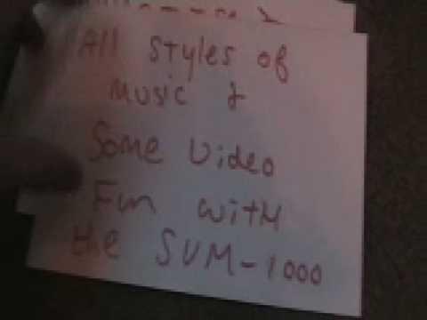 SVM-1000  video mix on blog tv 24th Jan 2009