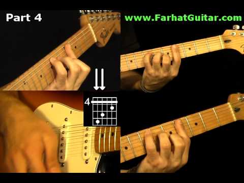 With a Little Help From My Friends The Beatles - Guitar Cover Part   4 www.Farhatguitar.com