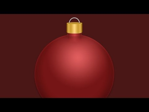 Photoshop: Christmas Ornament Holiday Tutorial