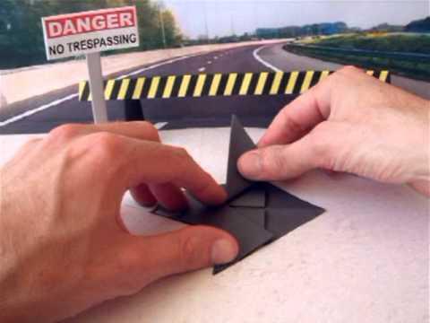 Origami Plane: INTERCEPTOR