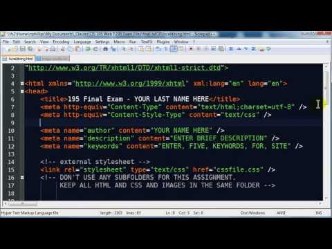 Web Development Solution Video Part 1 of 4