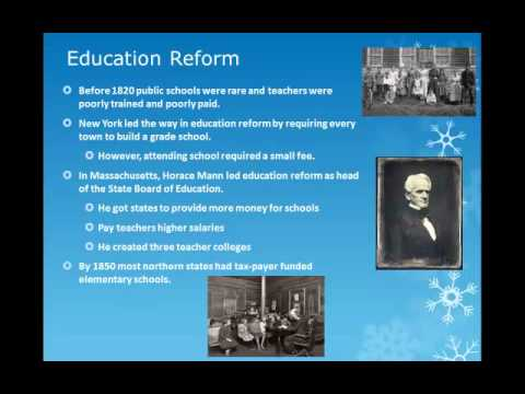 Prison & Mental Health, Education and Temperance Reform
