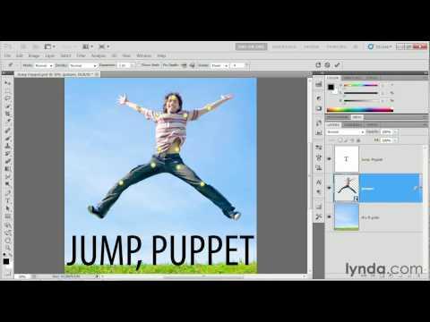 Photoshop: Using the Puppet Warp tool | lynda.com tutorial