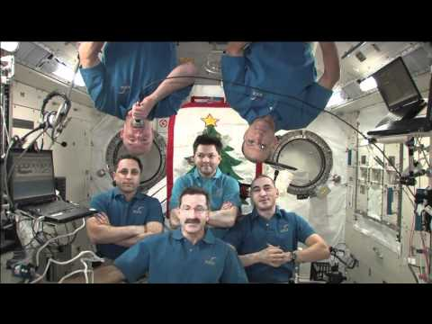 New Year's Wishes from ISS