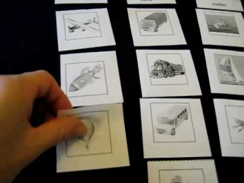 Toddler-Social Studies. Categorizing transportation