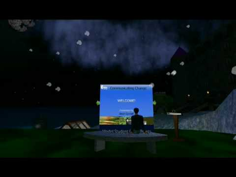 Second Life: Flight to Escribir Park (PowerPoint Presentations)
