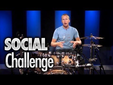 Social Challenge - Drum Lessons