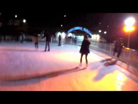 Skating at Walkerhill Ice Rink