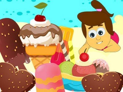 Popular Nursery Rhymes from HooplaKidz - ICE CREAM SONG