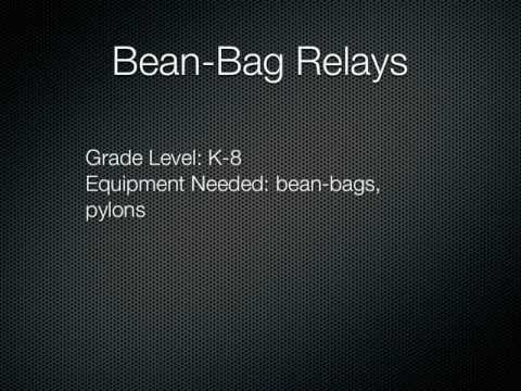 P.E. Games - Bean-Bag Relays