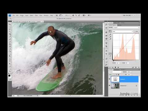 Photoshop: The Target Adjustment tool in Curves | lynda.com
