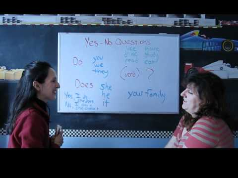 Lesson 50 - Yes-No Questions in the Simple Present - Learn English with Jennifer